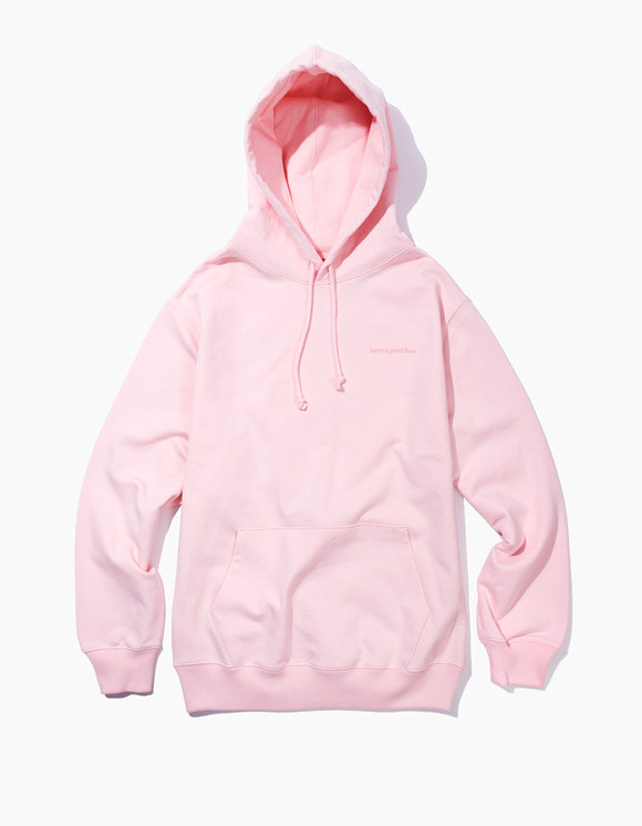 have a good time Side Logo Pullover Hoodie - Light Pink | HEIGHTS. | International Store