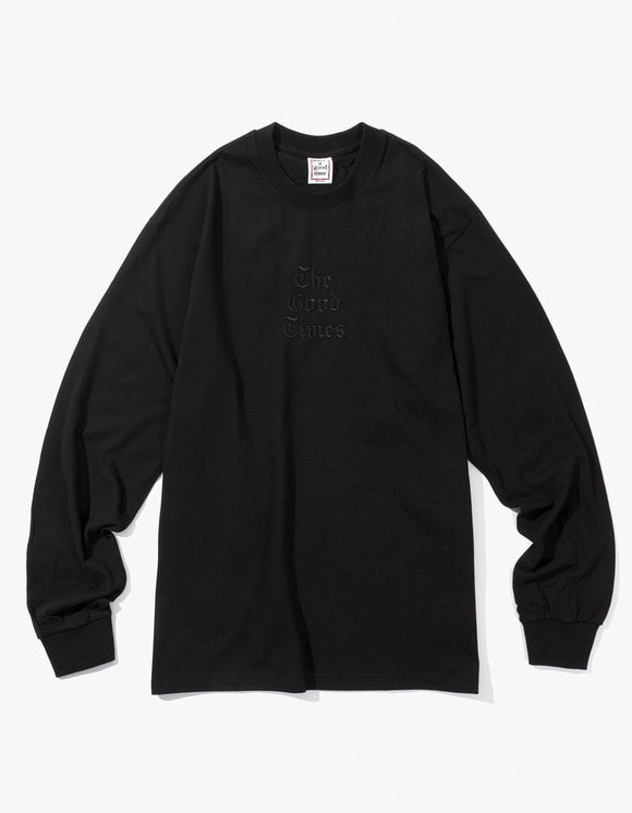 have a good time Good Time L/S Tee - Black | HEIGHTS. | International Store