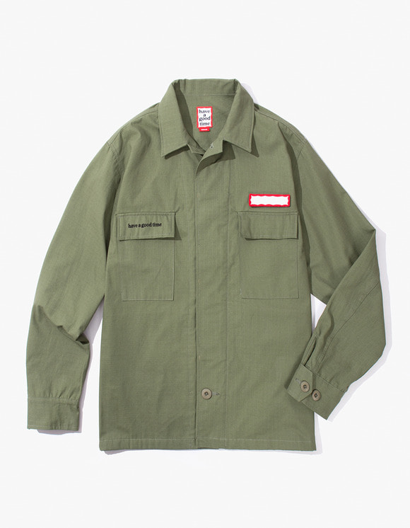 have a good time Ripstop Army Shirt - Olive | HEIGHTS. | International Store
