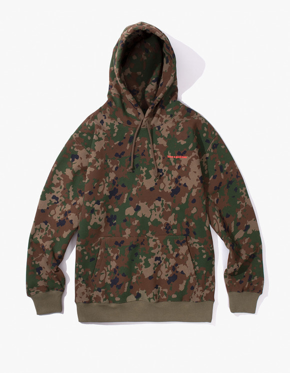 have a good time Side Logo Pullover Hoodie - Camo | HEIGHTS. | International Store