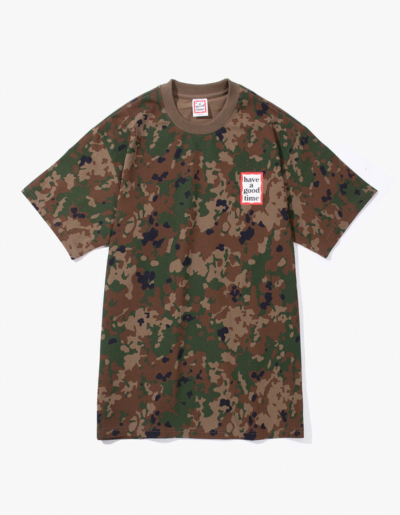 have a good time Mini Frame S/S Tee - Camo | HEIGHTS. | International Store