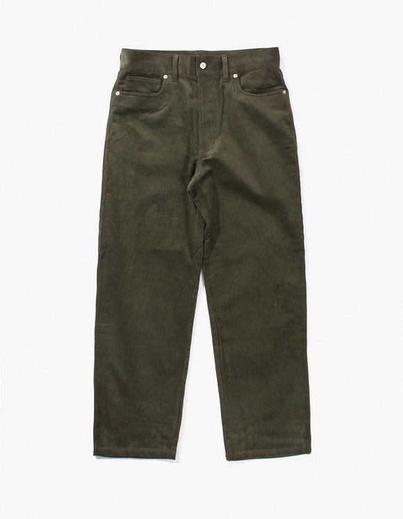 have a good time Good Times Corduroy Pants - Dark Green | HEIGHTS. | International Store