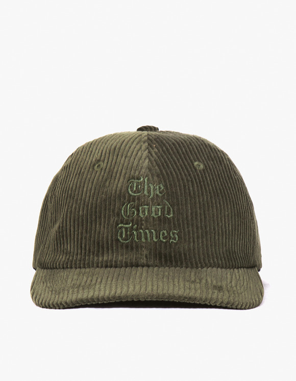 have a good time Good Times Corduroy Cap - Dark Green | HEIGHTS. | International Store