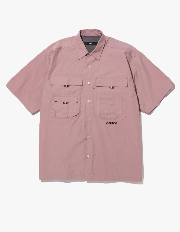 LMC LMC SHORT SLV FISHING SHIRT dk pink | HEIGHTS. | International Store