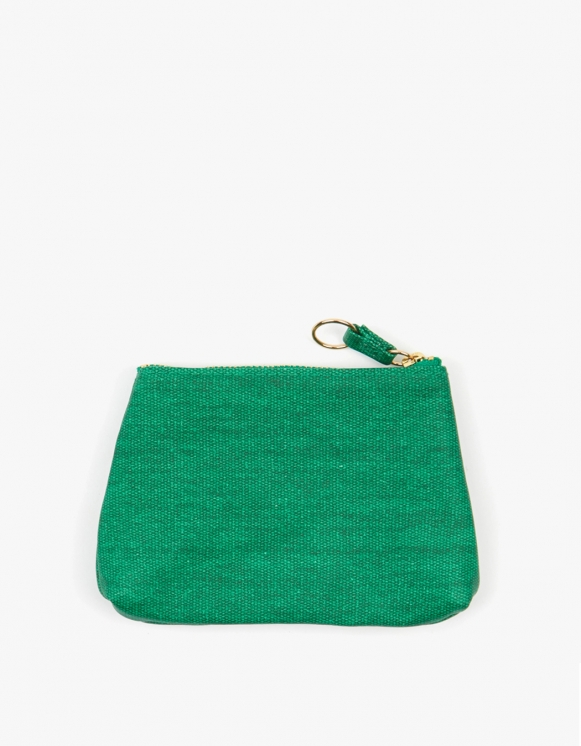 Odeme Small Guesset Pouch - Green | HEIGHTS. | International Store