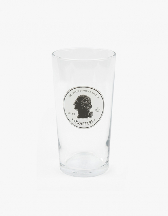 IZOLA NYC Pint Glass - Quaters | HEIGHTS. | International Store