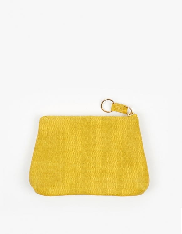 Odeme Small Guesset Pouch - Yellow | HEIGHTS. | International Store