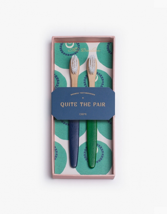 Odeme Navy / Green Tooth Brush Set | HEIGHTS. | International Store