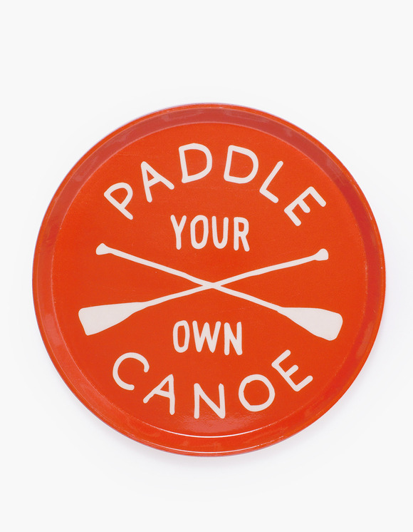 IZOLA NYC Drink Trays - Paddle Your Own Canoe | HEIGHTS. | International Store