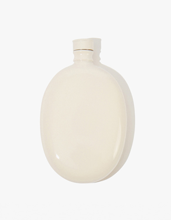 Odeme Bar Oval Flask - White | HEIGHTS. | International Store