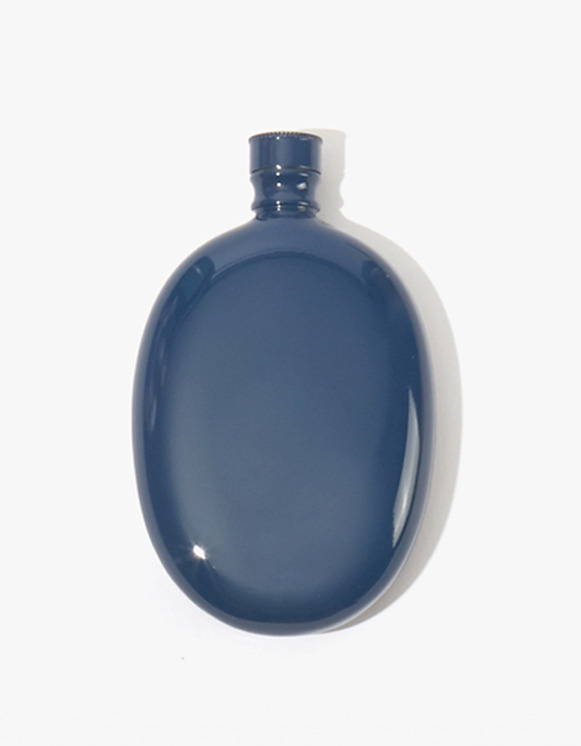 Odeme Bar Oval Flask - Navy | HEIGHTS. | International Store