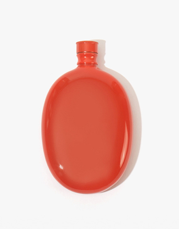 Odeme Bar Oval Flask - Red | HEIGHTS. | International Store
