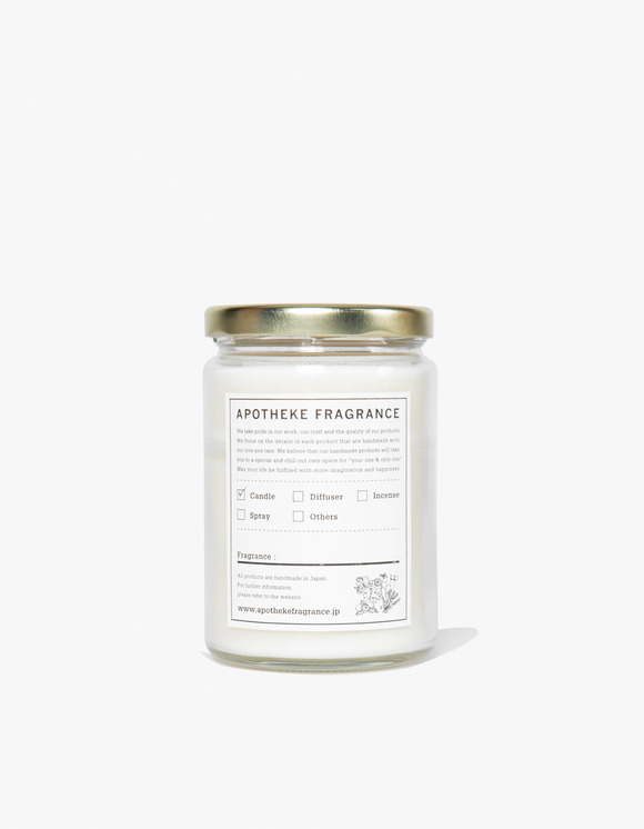 APOTHEKE FRAGRANCE Glass Jar Candle | HEIGHTS. | International Store