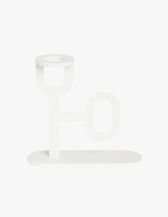 BLACKTHING Pin Candle Holder - White | HEIGHTS. | International Store