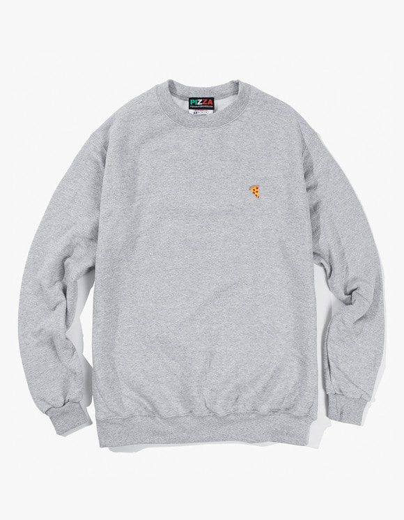 Pizza Skateboards Emoji Champion Crewneck - Heather Grey | HEIGHTS. | International Store