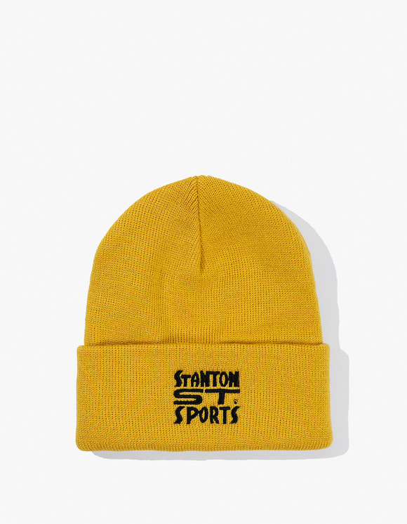 Stanton Street Sports Bodega Beanie - Old Gold | HEIGHTS. | International Store