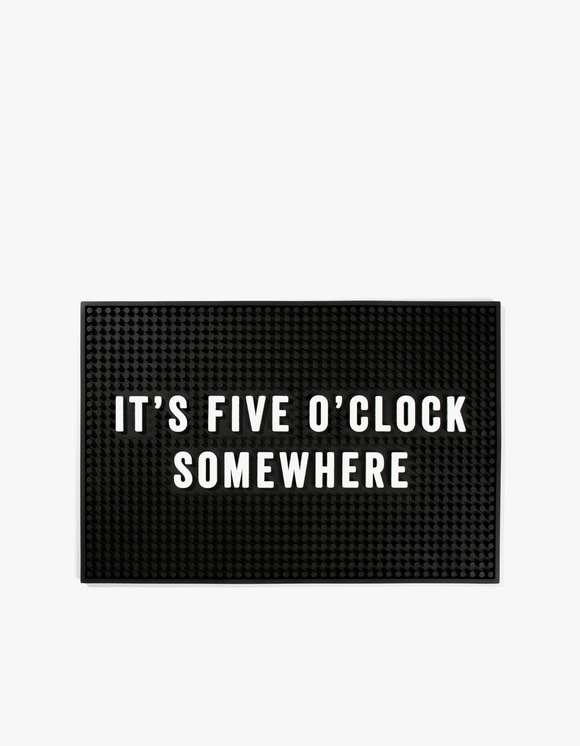 IZOLA NYC Five O'Clock Somewhere Bar Mat | HEIGHTS. | International Store
