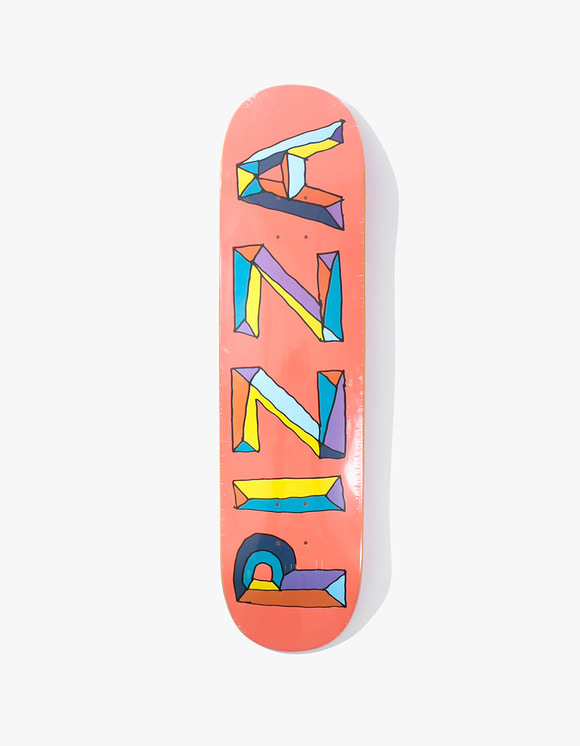 Pizza Skateboards Stained Glass Deck 8.5"