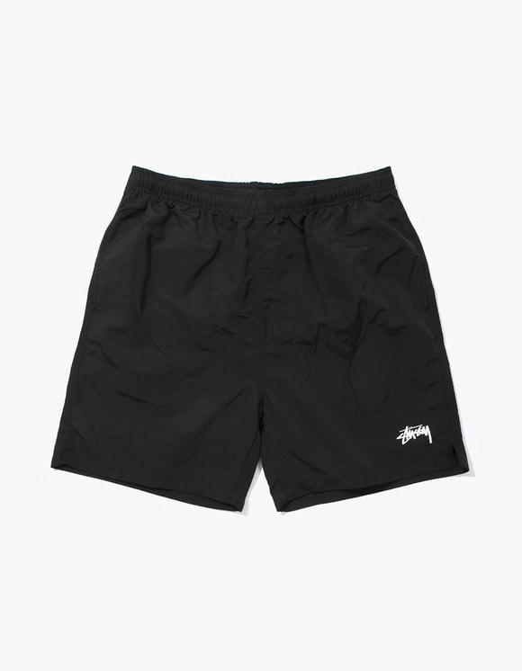 Stussy Stock Water Short - Black | HEIGHTS. | International Store