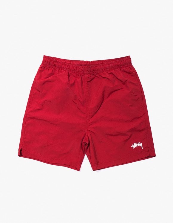 Stussy Stock Water Short - Red | HEIGHTS. | International Store