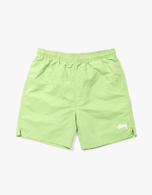 Stussy Stock Water Short - Lime | HEIGHTS. | International Store