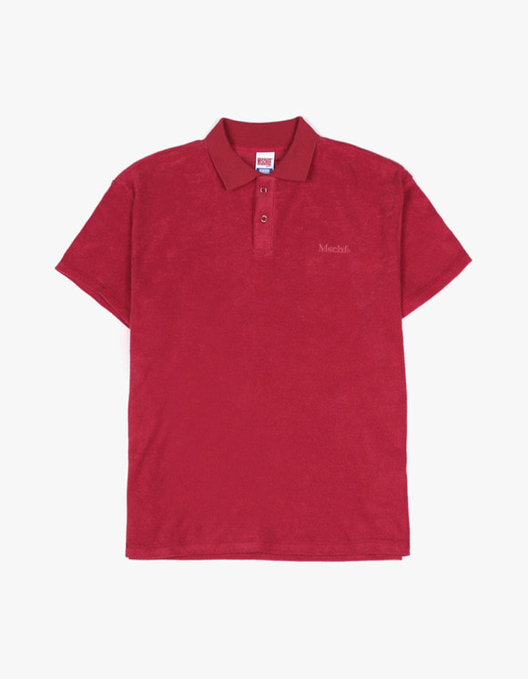 MISCHIEF MSCHF Terry Polo - Red | HEIGHTS. | International Store