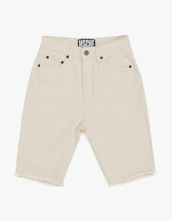 MISCHIEF Knee Length Pants - Cream | HEIGHTS. | International Store