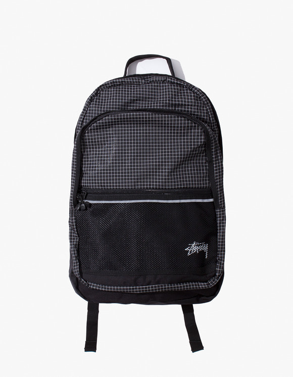 Stussy Ripstop Nylon Backpack - Black | HEIGHTS. | International Store