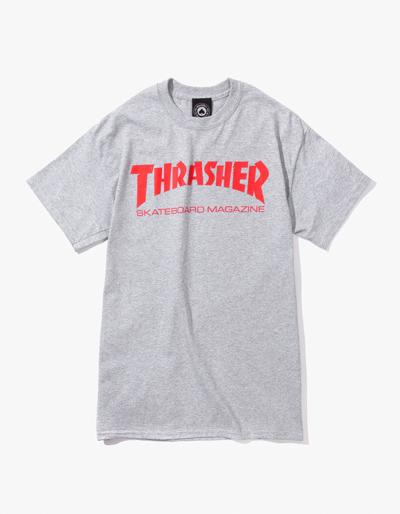 Thrasher Skate Mag S/S Tee - Grey | HEIGHTS. | International Store