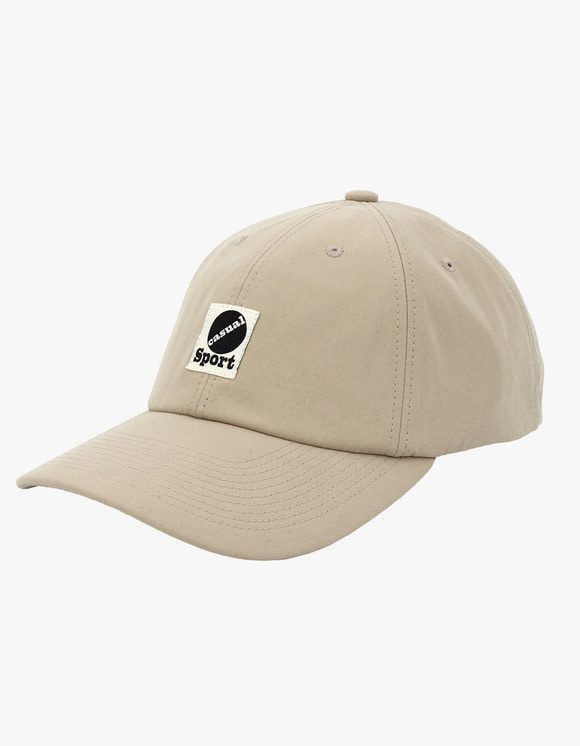 Heritage Floss Nylon Taffeta 6 Panel Cap - Beige | HEIGHTS. | International Store