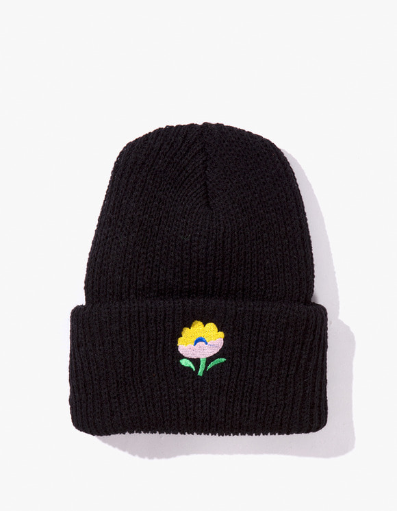 PARK DELI Campus Knit Cap - Black | HEIGHTS. | International Store