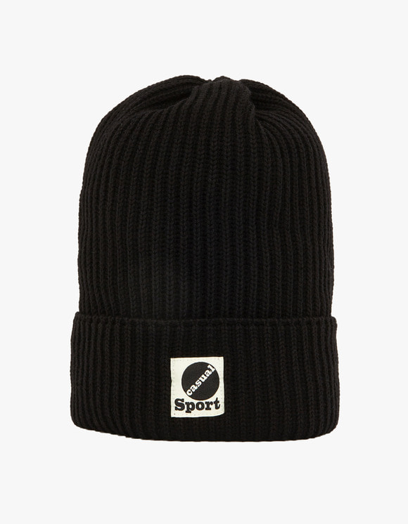 Heritage Floss Wool Beanie - Black | HEIGHTS. | International Store