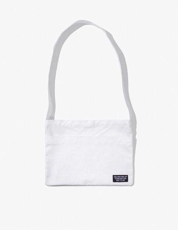 IZOLA NYC Cotton Sacoche - Off White | HEIGHTS. | International Store