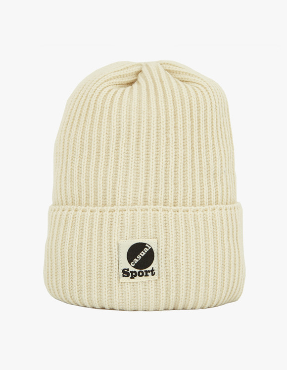Heritage Floss Wool Beanie - White | HEIGHTS. | International Store