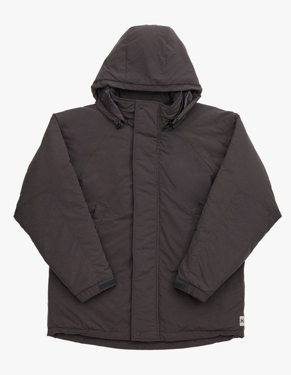 Heritage Floss Cold Parka - Charcoal | HEIGHTS. | International Store