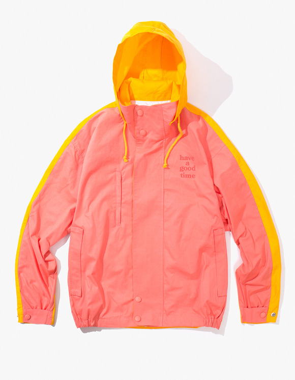 have a good time 2 Face Jacket - Baby Pink/Yellow | HEIGHTS. | International Store