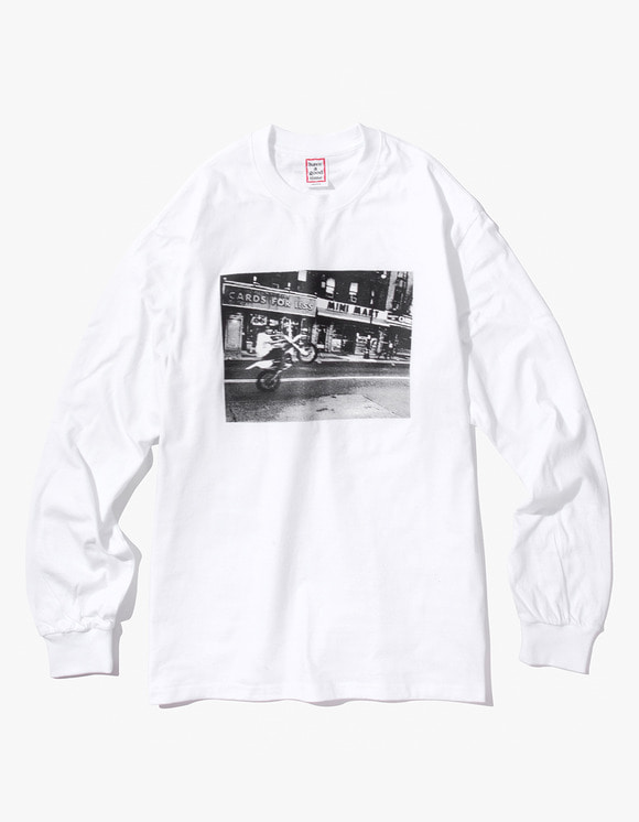 have a good time Blake L/S Tee - White | HEIGHTS. | International Store