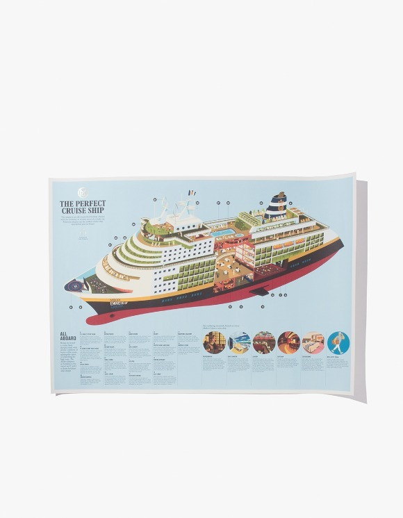 Monocle The Perfect Cruise Ship Poster | HEIGHTS. | International Store