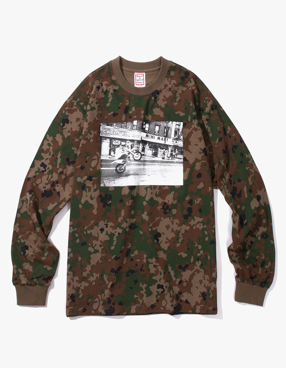 have a good time Blake L/S Tee - Camo | HEIGHTS. | International Store