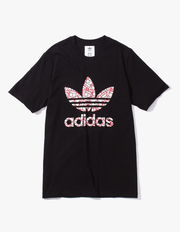 have a good time HAGT X ADIDAS S/S Tee - Black | HEIGHTS. | International Store