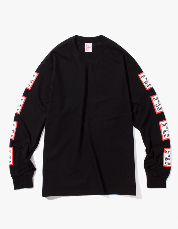 have a good time Arm Frame L/S Tee - Black | HEIGHTS. | International Store