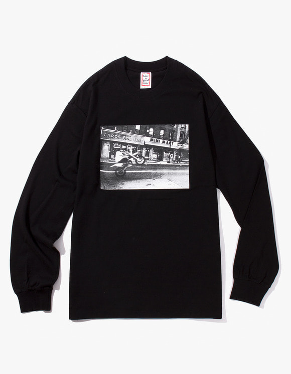 have a good time Blake L/S Tee - Black | HEIGHTS. | International Store