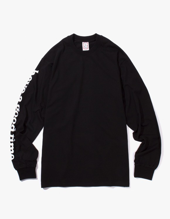 have a good time Apparaitre L/S Tee - Black | HEIGHTS. | International Store