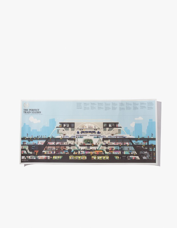 Monocle The Perfect Train Station Poster | HEIGHTS. | International Store