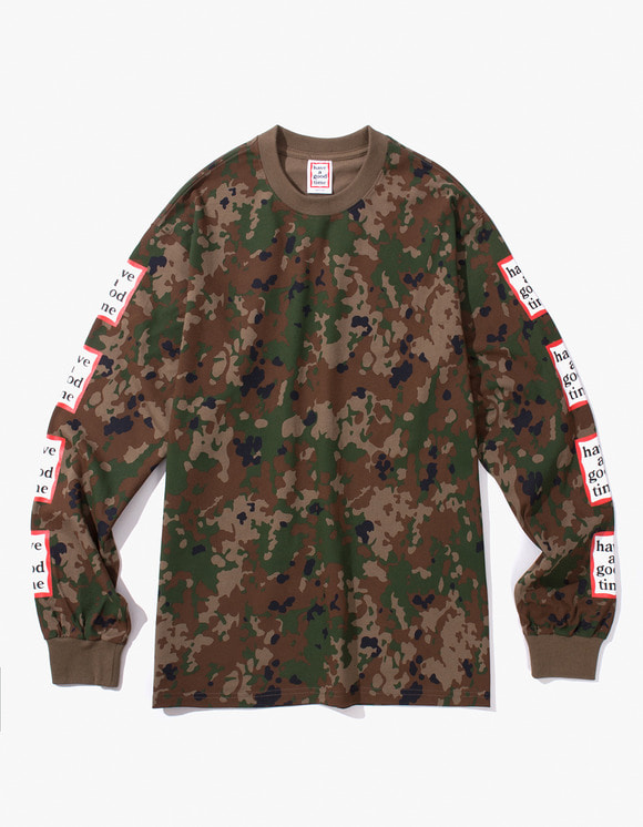 have a good time Arm Frame L/S Tee - Camo | HEIGHTS. | International Store