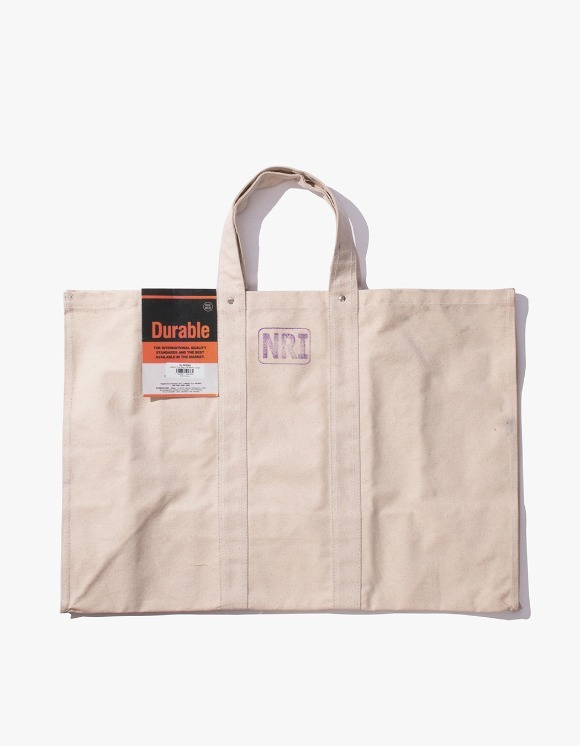 PUEBCO INC. Labour Tote Bag Large - Off White | HEIGHTS. | International Store