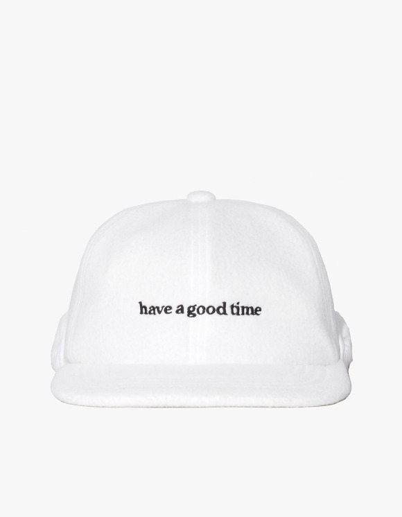 have a good time Fleece 6 Panel Cap - White | HEIGHTS. | International Store