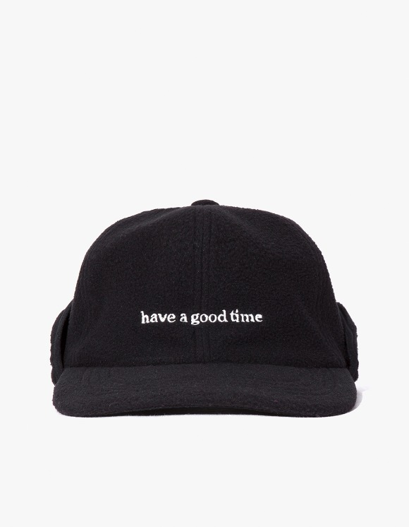 have a good time Fleece 6 Panel Cap - Black | HEIGHTS. | International Store