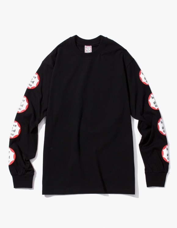 have a good time Clown L/S Tee - Black | HEIGHTS. | International Store