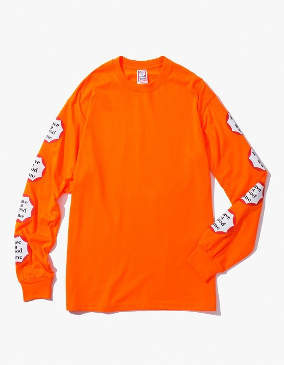 have a good time Clown L/S Tee - Neon Orange | HEIGHTS. | International Store